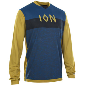 ION Scrub AMP Longsleeve Shirt Heren, rusty leaves